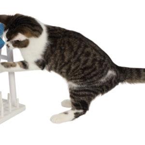 Aktivitetsleksak katt TurnAround 22x33x18 cm