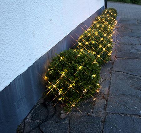 System 24 Ljusslinga nät, 42 ljus, 1x1m Varmvit