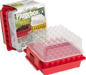 PlantStart Pluggbox Red Top