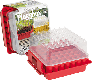 PlantStart Pluggbox Red Top