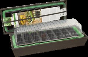Minidrivhus Window med trälåda