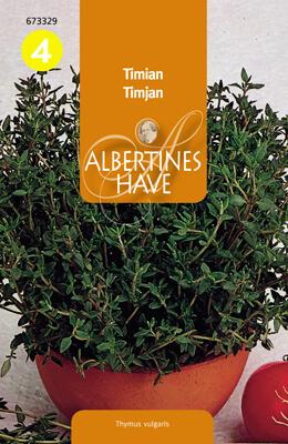 Timjan Thymus vulgaris, Ekologisk Frö & fröer