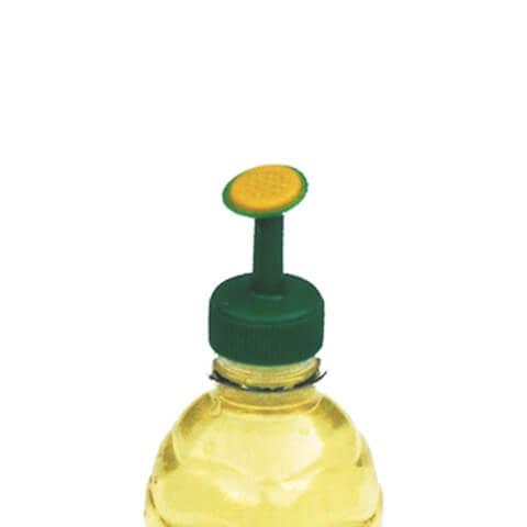 Såddbevattnare till petflaska, gul/grön