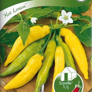 Chilipeppar, Hot Lemon frö