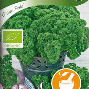 Persilja, Mosskrusig. Grüne Perle, Organic frö