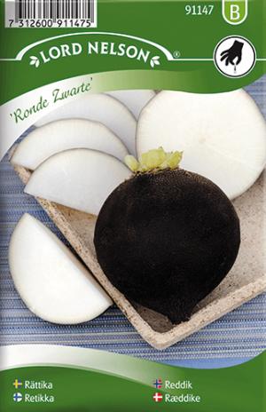 Rättika, Ronde Zwarte frö