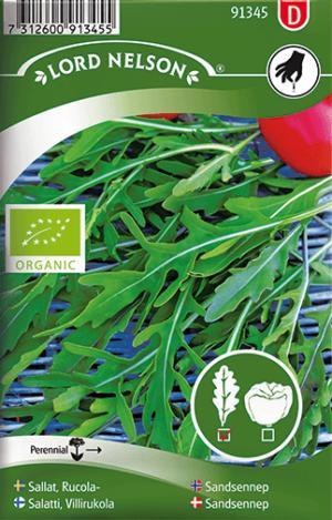 Rucola / Sandsenap, Organic frö