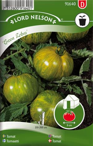 Tomat, Green Zebra frö