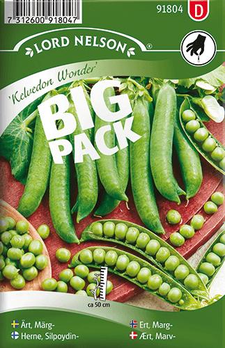 Märgärtor, Kelvedon Wonder, Big Pack frö