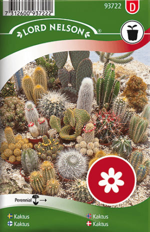Kaktus, blandade frö