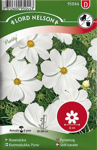 Rosenskära, Purity, vit frö