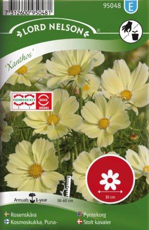 Rosenskära, Xanthos frö