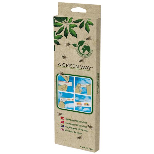 Flugfångare till Fönster A Green Way® 6-pack