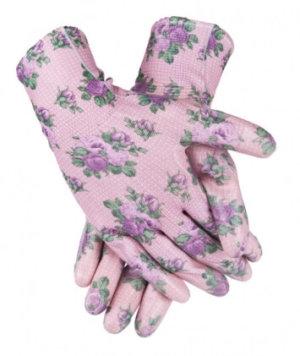Renshandske trädgård roses rosa botten
