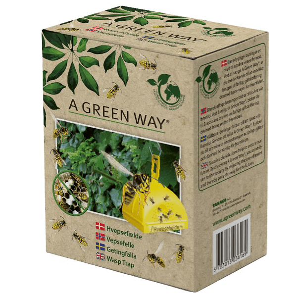 Getingfälla A Green Way® inkl. 100ml lockvätska