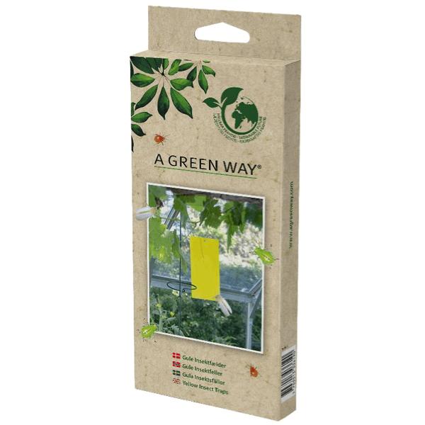 Gula Insektsfällor A Green Way® 5-pack