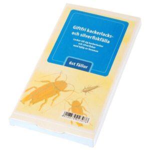 Kackerlacksfälla 6-pack