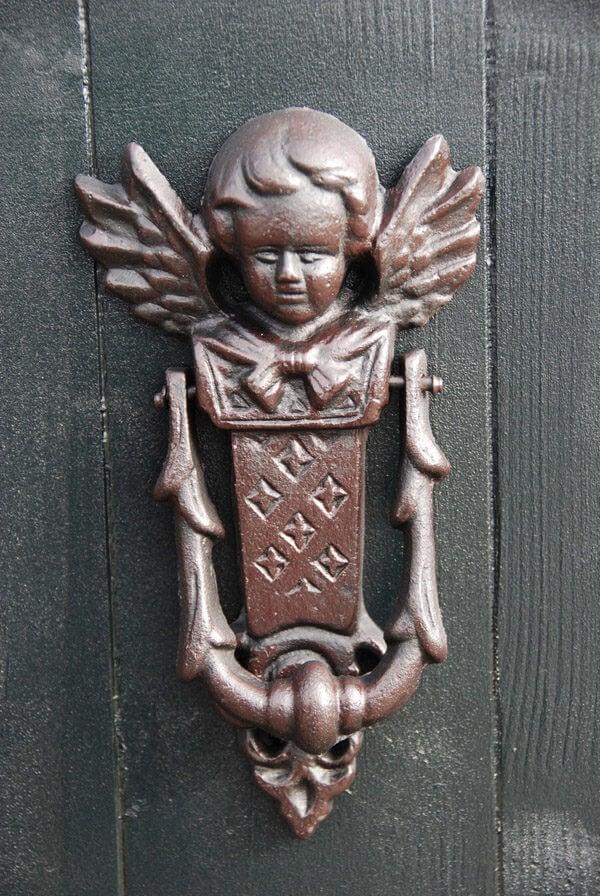 Dörrkläpp ängel