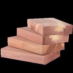 Doftblock i Rödcederträ 4-pack