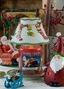Skärm för medium & stor burk julmotiv