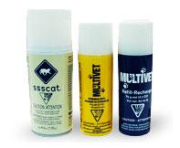 Antiskall halsband Multivet SprayCollar refill citron
