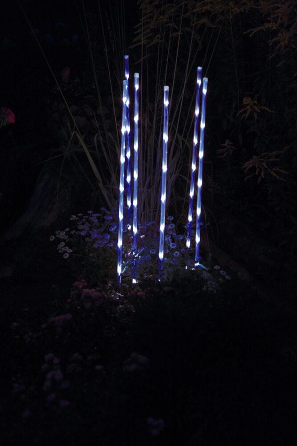 Garden Sticks blå