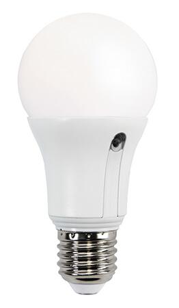 LED-lampa 10W (60W) med skymningsrelä