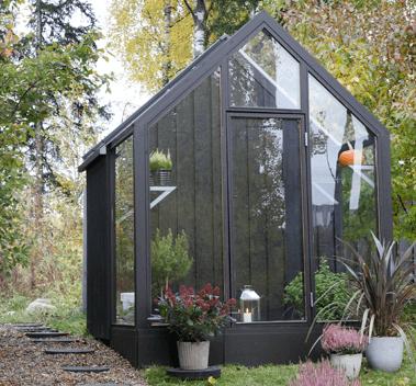 Trädgårdslider Spira 4 m2