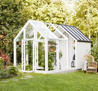 Trädgårdslider Vila 10 m2
