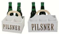 Trälåda Pilsner 6 flaskor