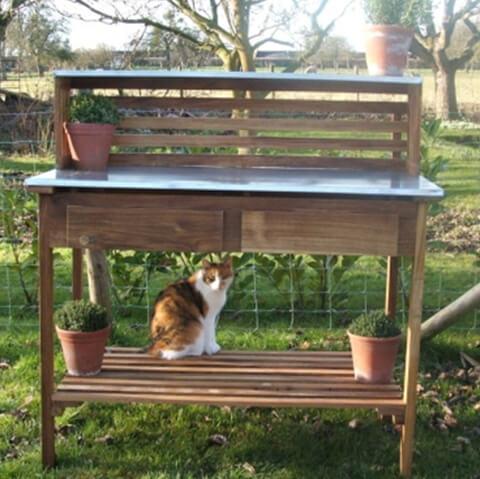 Planteringsbord Ek