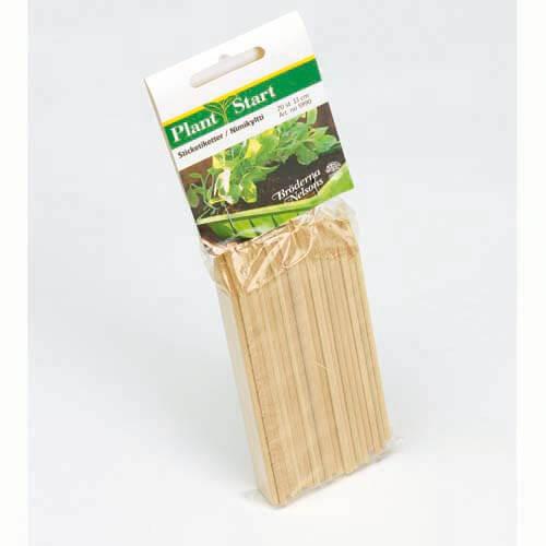 Plantetiketter trä 20 st 13 cm
