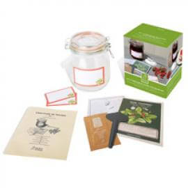 Jordgubbssyltkit i presentförpackning