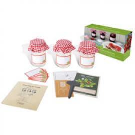 Jordgubbssyltkit 3 burk i presentförpackning