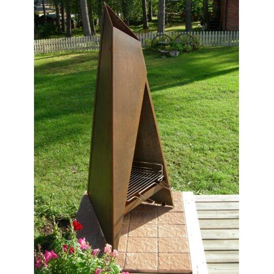 Tipi 147 terrassvärmare - eldstad - grill