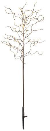Tobby Tree dekorations träd 210cm LED brun