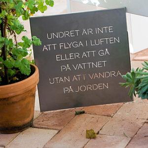 "Trädgårdspoesi ""Lycka"""