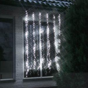Vattenfall gardin LED 256 lampor