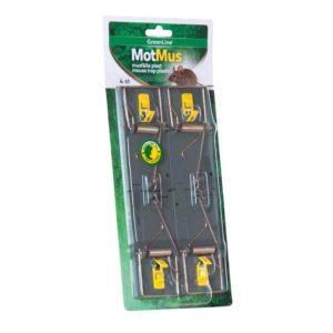Musfälla MotMus® Plast 4-pack