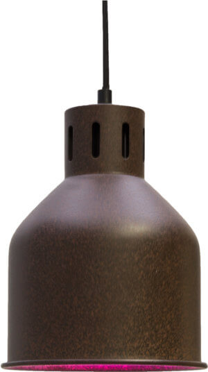 690397/SAGA Växtarmatur för LEDlampor, Rost
