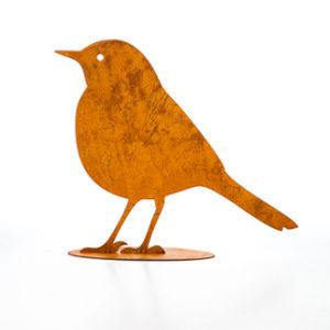 Fågel 23cm, Rost