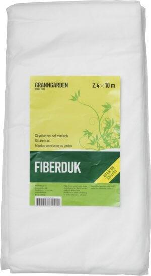 Fiberduk Granngården 25 g Vit, 2,4 x 10 m