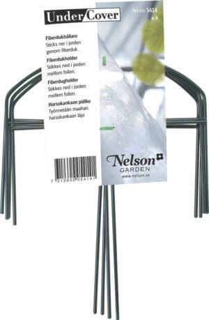Fiberdukshållare Nelson Garden, 4-pack