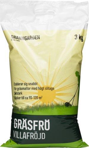 Gräsfrö Granngården Villafröjd, 3 kg
