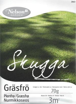 Gräsfrö Nelson Garden Skugga, 70 g