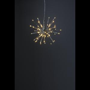 Hängande dekoration Firework, 28cm, Silver