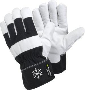 Handske Tegera 377, Svart/vit