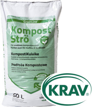 Kompostströ GreenLine, 50 l