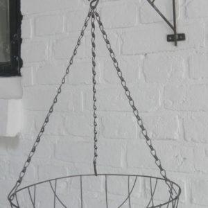 Trådampel Rund 30 cm Rost / 000134