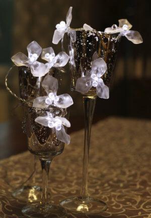 Casablanca Ljusslinga Frostad Blomma